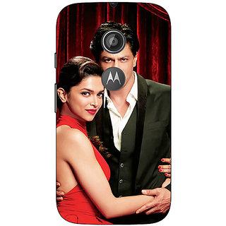 1 Crazy Designer Bollywood Superstar Deepika Padukone Shahrukh Khan Back Cover Case For Moto E2 C651024