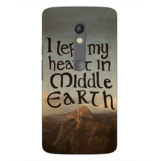 1 Crazy Designer LOTR Hobbit  Back Cover Case For Moto X Play C660377
