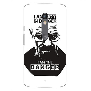 1 Crazy Designer Breaking Bad Heisenberg Back Cover Case For Moto X Play C660404