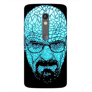 1 Crazy Designer Breaking Bad Heisenberg Back Cover Case For Moto X Play C660428