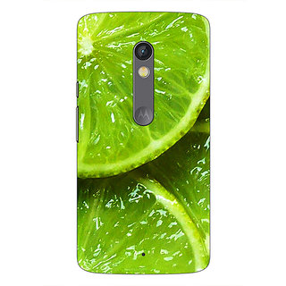 1 Crazy Designer Lemons Back Cover Case For Moto X Play C660693