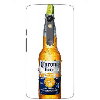1 Crazy Designer Corona Beer Back Cover Case For Moto X Play C661247