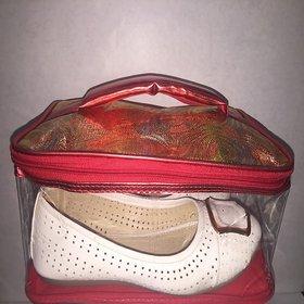 Ladies Fancy Shoe/Sandal Bag in Glittery Style
