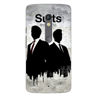 1 Crazy Designer SUITS Harvey Spector Back Cover Case For Moto X Play C660478