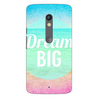 1 Crazy Designer Dream Quote Back Cover Case For Moto X Play C660820