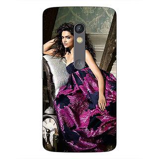 1 Crazy Designer Bollywood Superstar Deepika Padukone Back Cover Case For Moto X Play C661037
