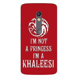 1 Crazy Designer Game Of Thrones GOT Princess Khaleesi Back Cover Case For Moto X Play C661536