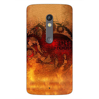 1 Crazy Designer Game Of Thrones GOT House Targaryen Back Cover Case For Moto X Play C661550