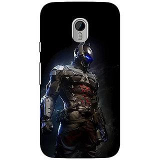 1 Crazy Designer Superheroes Batman Dark knight Back Cover Case For Moto G3 C670009