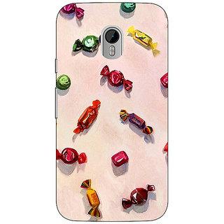 1 Crazy Designer Toffee Pattern Back Cover Case For Moto G3 C670247