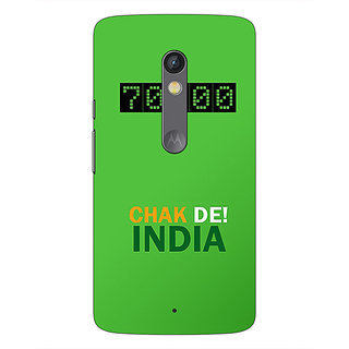 1 Crazy Designer Bollywood Superstar Chak De India Back Cover Case For Moto X Play C661106