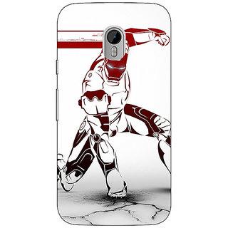 1 Crazy Designer Superheroes Ironman Back Cover Case For Moto G3 C670861