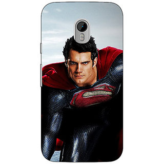 1 Crazy Designer Superheroes Superman Back Cover Case For Moto G3 C670879