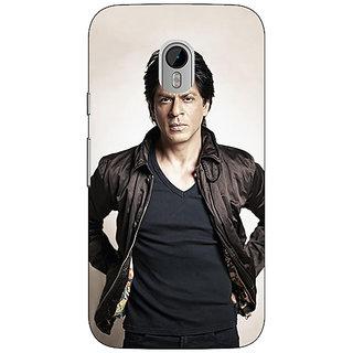 1 Crazy Designer Bollywood Superstar Shahrukh Khan Back Cover Case For Moto G3 C670935