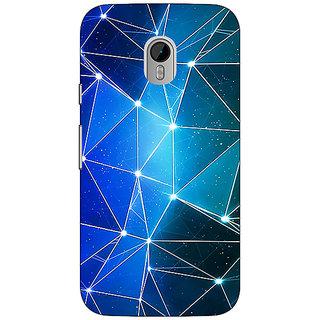 1 Crazy Designer Crystal Prism Back Cover Case For Moto G3 C671446