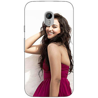 1 Crazy Designer Bollywood Superstar Sonakshi Sinha Back Cover Case For Moto G3 C671020