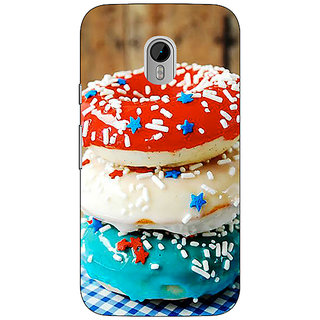 1 Crazy Designer Donuts Back Cover Case For Moto G3 C671222