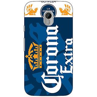 1 Crazy Designer Corona Beer Back Cover Case For Moto G3 C671249