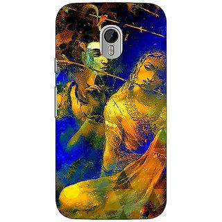 1 Crazy Designer Mahadev Shiv Shankar Bholenath Parvati Back Cover Case For Moto G3 C671278