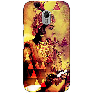 1 Crazy Designer Lord Krishna Back Cover Case For Moto G3 C671280