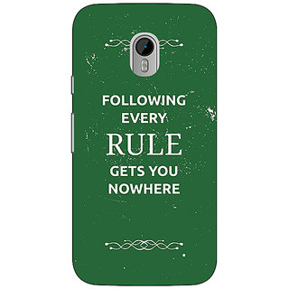 1 Crazy Designer SUITS Quotes Back Cover Case For Moto G3 C670486