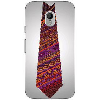 1 Crazy Designer Tribal Tie Back Cover Case For Moto G3 C670778