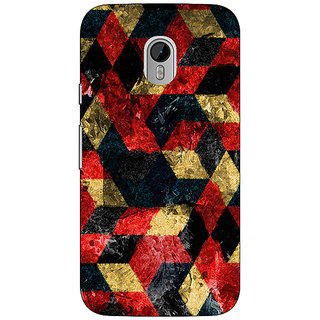 1 Crazy Designer Tribal Back Cover Case For Moto G3 C670781