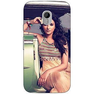 1 Crazy Designer Bollywood Superstar Parineeti Chopra Back Cover Case For Moto G3 C671062