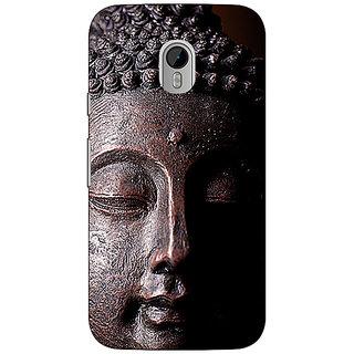 1 Crazy Designer Gautam Buddha Back Cover Case For Moto G3 C671285