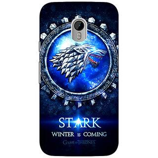 1 Crazy Designer Game Of Thrones GOT House Stark Back Cover Case For Moto G3 C671555