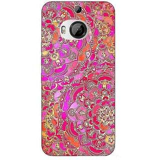 1 Crazy Designer Hot Floral  Pattern Back Cover Case For HTC M9 Plus C680241
