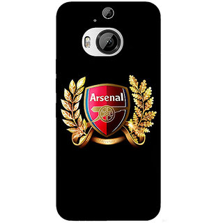 1 Crazy Designer Arsenal Back Cover Case For HTC M9 Plus C680504
