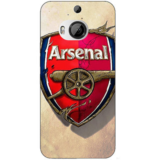 1 Crazy Designer Arsenal Back Cover Case For HTC M9 Plus C680515