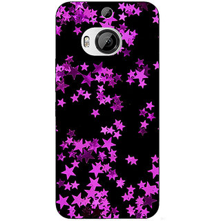 1 Crazy Designer Starry Night  Back Cover Case For HTC M9 Plus C680804