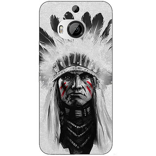 1 Crazy Designer Triabl Man Back Cover Case For HTC M9 Plus C680829