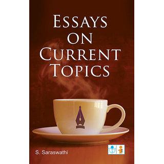 essays on current topics