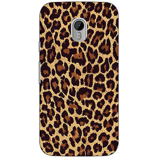 1 Crazy Designer Leopard Cheetah Pattern Back Cover Case For Moto G3 C671387