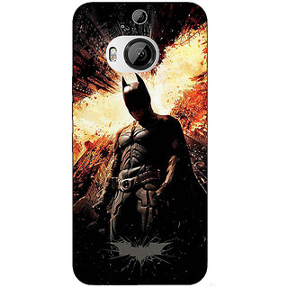 1 Crazy Designer Superheroes Batman Dark knight Back Cover Case For HTC M9 Plus C680015
