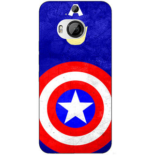1 Crazy Designer Superheroes Captain America Back Cover Case For HTC M9 Plus C680331