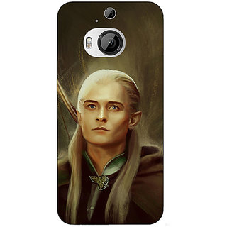 1 Crazy Designer LOTR Hobbit  Back Cover Case For HTC M9 Plus C680375