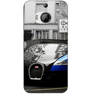 1 Crazy Designer Super Car Bugatti Back Cover Case For HTC M9 Plus C680627
