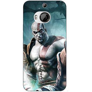 1 Crazy Designer God of War Back Cover Case For HTC M9 Plus C680876