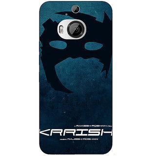 1 Crazy Designer Bollywood Superstar Krrish Back Cover Case For HTC M9 Plus C681129