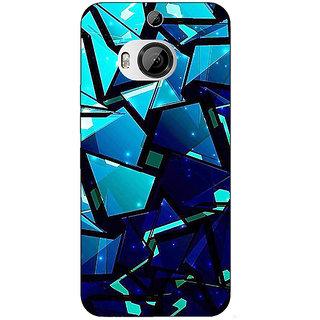 1 Crazy Designer Crystal Prism Back Cover Case For HTC M9 Plus C681412