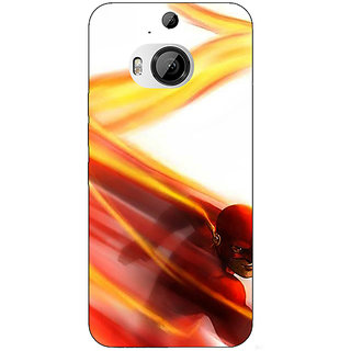 1 Crazy Designer Flash Back Cover Case For HTC M9 Plus C681434