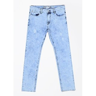 Indigo Jeanscode Slim Fit blue colour cotton and elastane material Mens Jeans