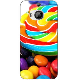1 Crazy Designer Candies Back Cover Case For HTC M9 Plus C680688