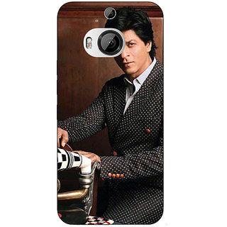 1 Crazy Designer Bollywood Superstar Shahrukh Khan Back Cover Case For HTC M9 Plus C680965