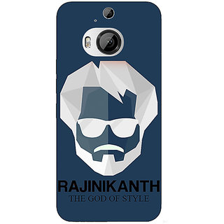 1 Crazy Designer Rajni Rajanikant Back Cover Case For HTC M9 Plus C681482