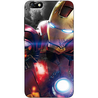 1 Crazy Designer Superheroes Ironman Back Cover Case For Huwaei Honor 4X C690882